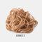 7 цветов фрикадельки Парик Волосы кольцо Волосы Сумка Волосы аксессуары матовый высокотемпературный шелк Волосы кольцо для укладки Инструмент - 06