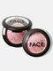 6色ブラッシュモイスチャライジングブライトニングコンプレクションハイグロスルージュブラッシュの修復 - #01