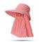 Cappello da donna con protezione solare estiva in tinta unita Cappello da muschio per esterno Cappello rimovibile casual - #06