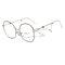 Women Men Big Frame Anti-Blue Ray Anti-Radiation Waterproof Reduce Fatigue Clear Lens Glasses