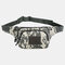 Men Nylon Multi-carry Multi-pocket Outdoor Tactical Camouflage Riding Waist Bag Sling Bag Chest Bag - #05