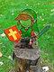 1PC Acrylic Koroks Family Zelda Game-theme Leaf Fairy Insert Card For Garden Decor Game Lovers - #06