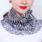 Zebra Print Leopard Print Breathable Printing Masks Neck Protection Sunscreen Ear-mounted Scarf - #01