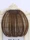 Mini Bangs Air Bangs Hair Extensions No-Trace Bangs Wig Piece - MN42 Light Brown