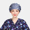 Surgical Caps Scrub Cap Cotton Fabric Nurse Hat Collar Surgery Skull - 05