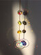 1 PC Sun Catcher Crystal Chandelier Ornament Aurora Wind Chimes with Prismatic Pendant Elegant Rainbow Maker Home Decor - #03