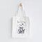 Cute Cat Prints Canvas Shoulder Bag Casual Bag - #03
