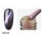 12 цветов Глаза кошачьего гвоздя для гвоздя для ногтей для ухода за кожей с ультрафиолетовым покрытием