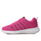 Women's Walking Shoes Casual Mesh-Breathable Fashion Lace-up Sneakers - Pink