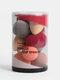 10 Stück Mini Makeup Puff Nass-Trocken-Kürbiskissen mit zwei Verwendungszwecken Schwammbeutel-Schönheitseier - #01