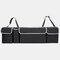 Multifunktions-Aufbewahrungstasche für Oxford-Stoffautos Aufbewahrungsbehälter für Autositze Aufhängetasche im Freien - Schwarz