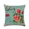 Rose Hug Pillowcase Mediterranean Nordic Style Car Cushion Cover - #3