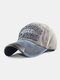 Men Washed Cotton Embroidery Baseball Cap Outdoor Sunshade Adjustable Hats - #05