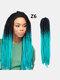22 цвета цветная грязная коса Спираль длинная Волосы конский хвостик маленькая весна кудрявая Парик - #13