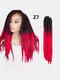 22 цвета цветная грязная коса Спираль длинная Волосы конский хвостик маленькая весна кудрявая Парик - #14