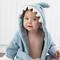 Estilo bonito dos desenhos animados Roupão de algodão para crianças Roupão com capuz Bebê adequado