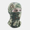 Riding Hood Python Pattern Hat Breathable Sunscreen Windproof Motorcycle Mask Warm Hood - 02