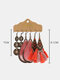 3 Pcs Vintage Irregular Women Earrings Set Shell Hollow Flower Long Tassel Earrings - #02