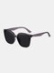 Unisex Wide Frame Fashion Outdoor Cool UV Protection Sunglasses - Gray