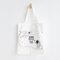Cute Cat Prints Canvas Shoulder Bag Casual Bag - #08