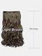 6 цветов длинные вьющиеся Волосы удлинители с пятью зажимами высокотемпературное волокно Парик шт. - #03