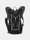 Men Reflective Cycling Outdoor Running Mountaineering Hiking backpack - Gray