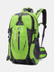 Large Capacity 40L Multi-pockets Anti-scratch Load-bearing Mountaineering Multifunctional Buckle Outdoors Backpack - Green