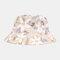 Mujer Hombres Camuflaje Bucket Cap Fisherman Sombrero Visor al aire libre Viajes Sombrero
