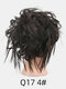 41 Colors Chicken Tail Hair Ring Messy Fluffy Rubber Band Curly Hair Bag Wig - 02