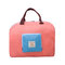 Folding Shoulder Storage Bag Korean Polyester Luggage Storage Bag Travel Shopping Tote Bag