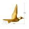 Europeo 3D estéreo pared resina pájaro pared fondo ornamento hogar artesanía decoración - #13