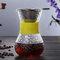 高温耐性ガラスコーヒーメーカーポットエスプレッソコーヒーマシン - 緑2