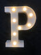 LED English Letter And Symbol Pattern Night Light Home Room Proposal Decor Creative Modeling Lights For Bedroom Birthday Party - #16