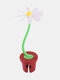 1pcs Rotation Daisy Flower Prevent Soup Overflow Pot Clip Silicone Lifting Pot Cover Kitchen Lid Holder Tool - #01