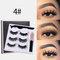 3D False Eyelashes Set Magnetic Eyeliner Liquid Natural Magnet Eyelashes Eye Makeup Eye Cosmetics - 04