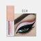 15 Colors Glitter Liquid Eyeshadow Portable Waterproof Lasting Pigmented Professional Eye Cosmetics - #01