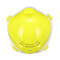 Electronic N95 Protective Washable Mask Filter 98% Bacteria  - Yellow