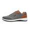 Chaussures de sport pour hommes avec épissage en cuir antidérapant
