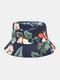 Cappello da pescatore con stampa floreale su due lati unisex in cotone double face Modello - Marina Militare