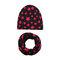 Cool Boy Print Sombrero Set de bufanda para 0-4 años - 7