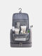 Multifunctional large-capacity Dry And Wet Separation Outdoor Travel Wash Bag Double Waterproof Hanging Cosmetic Bag - Gray