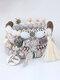 Vintage Multicolor Beautiful Opal Bracelet Temperament Multi-layer Tassel Bracelet - #03