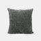 Couleur unie oreiller coussin salon canapé coussin plaine moderne minimaliste chevet taille taie d'oreiller - Gris foncé