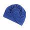 Soft Algodón de flor tejida Multicolor lijar algodón elástico ajustable Sombrero para mujer