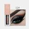 15 Colors Glitter Liquid Eyeshadow Portable Waterproof Lasting Pigmented Professional Eye Cosmetics - #12