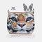Creative Dust Mask Tiger Animal Cartoon Plush Mask - 01
