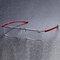 Unisex Metal HD Lectura sin marco Gafas Lectura portátil cómoda y cómoda de resina Gafas