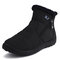Women Waterproof Warm Lining Zipper Soft Sole Ankle Short Snow Boots