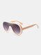 Unisex PC Full Frame Colorful One-piece Lens Anti-UV Goggles Fashion Sunglasses - #03