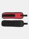 1Pc Tornillo Soporte de tijera herramienta Almacenamiento de muñeca Pulsera magnética fuerte herramientakit Correa de muñeca de calidad - rojo